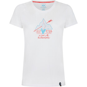 La Sportiva Alakay T-Shirt Femme, white/hibiscus